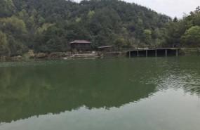 大型带水库200亩山庄出售 土地编号:72