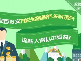 五部委发文推进金融服务乡村振兴 这些人将从中受益!